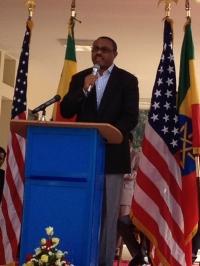 Ethiopian Prime Minister Hailemariam Desalegn