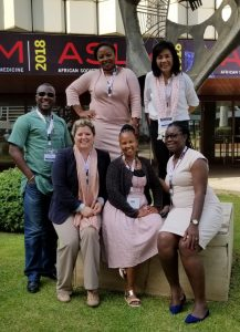 I-TECH Laboratory Systems Strengthening Team at ASLM 2018.