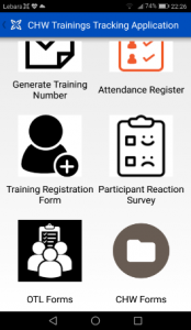 I-TECH SA CHW Training App